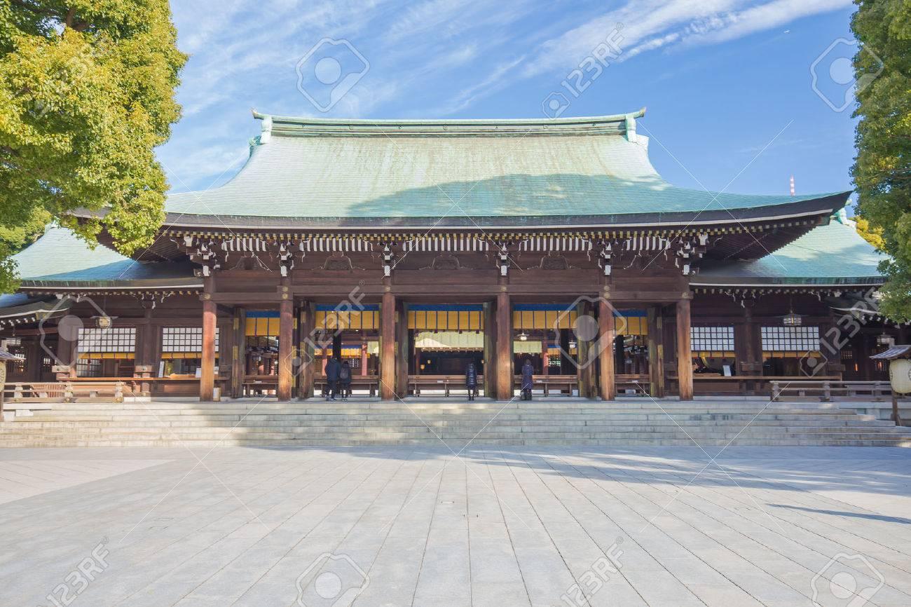 Meiji-jingu in Tokyo, Japan. Banque d'images - 36979240
