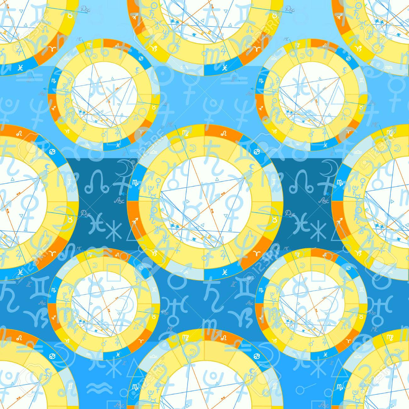 Seamless pattern natal astrological chart zodiac signs on blue seamless pattern natal astrological chart zodiac signs on blue vector illustration stock vector 68184884 nvjuhfo Image collections