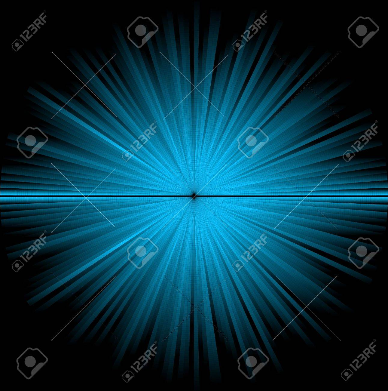 Abstract blue background - star in the cosmos Stock Photo - 5508100