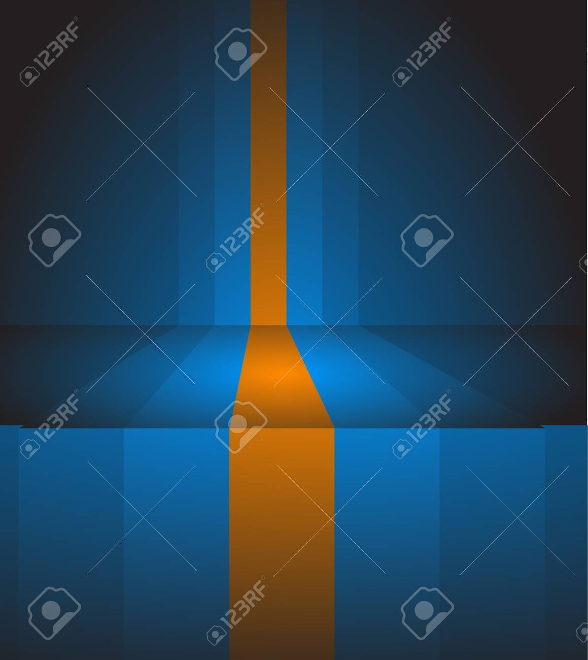 Abstract dark background made from blue and brown stripes Stock Photo - 5740874