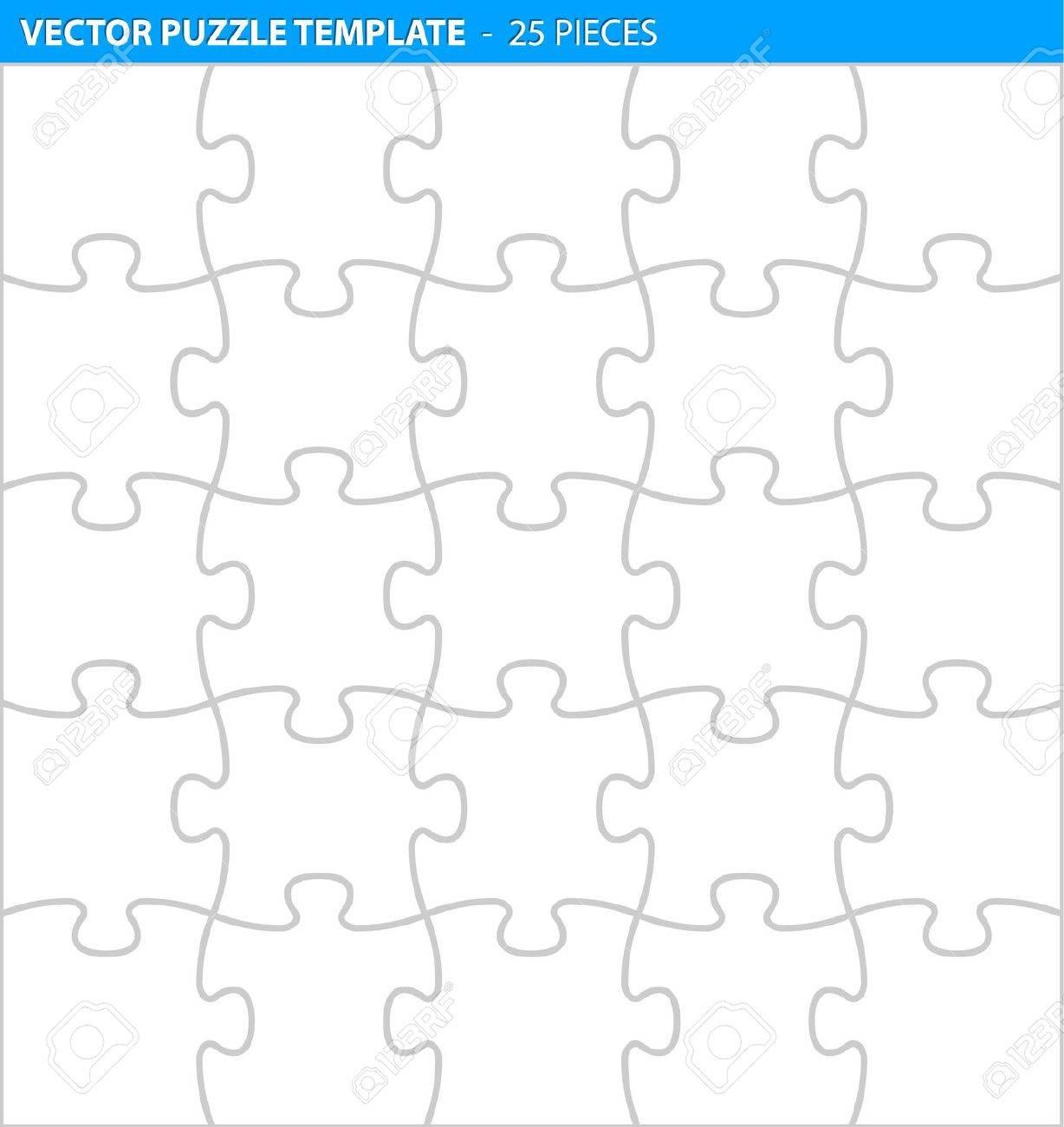 Erfreut Puzzle Vorlage Zum Ausdrucken Bilder - Beispiel ...