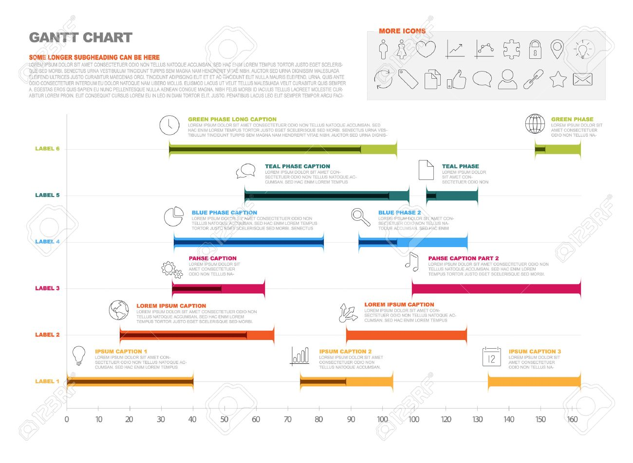 timeline graph template