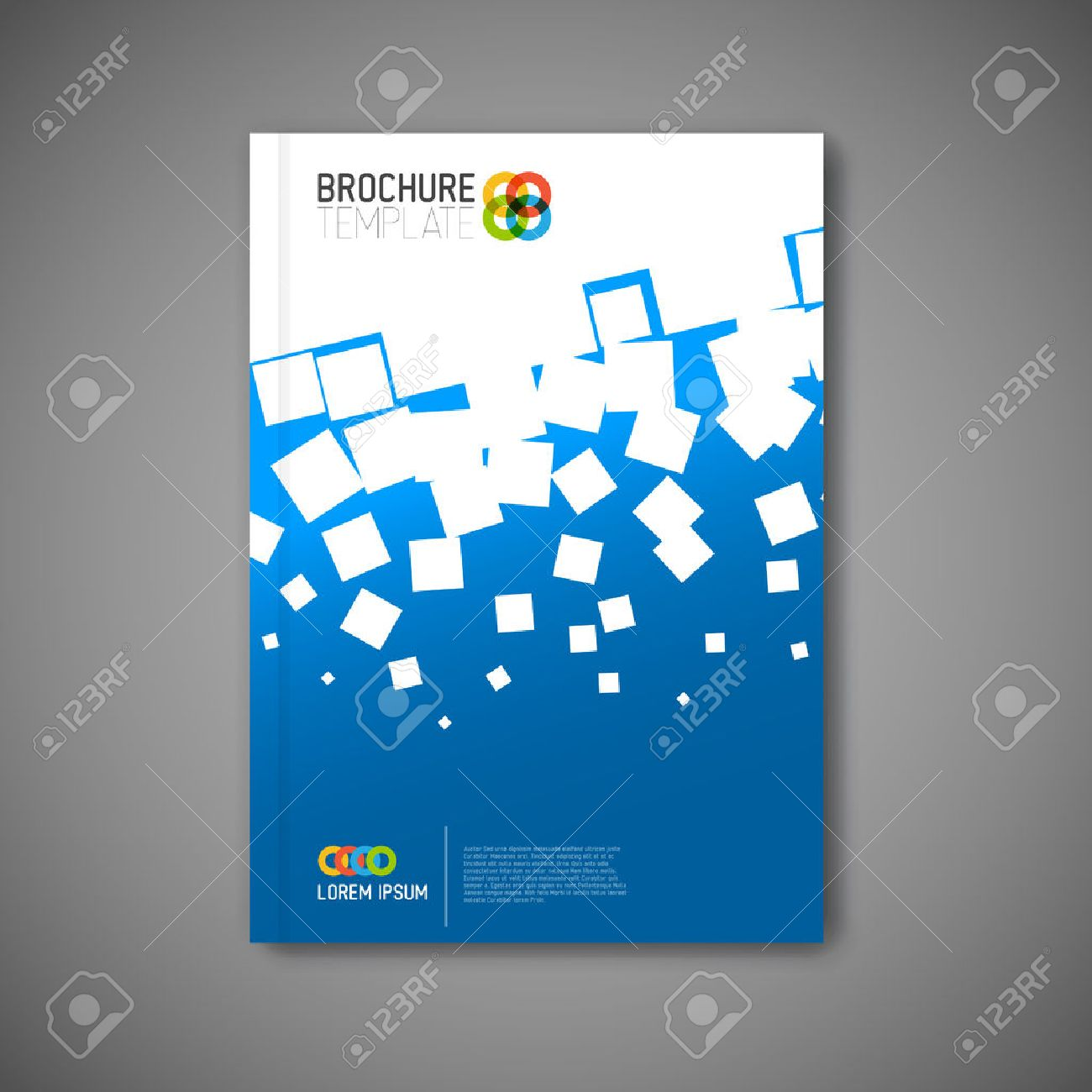 modern abstract brochure report or flyer design template royalty modern abstract brochure report or flyer design template stock vector 33019513