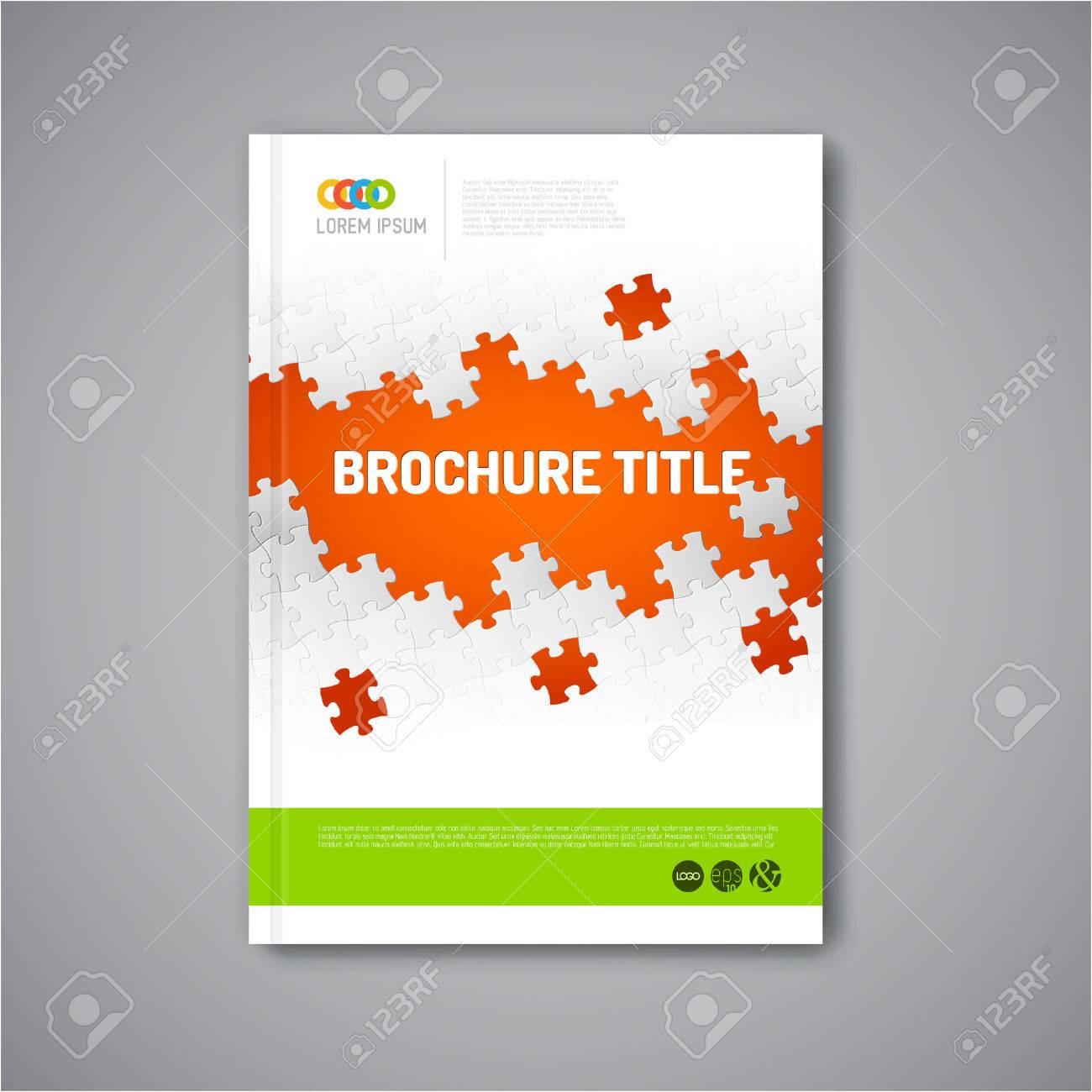 modern vector abstract brochure report or flyer design template