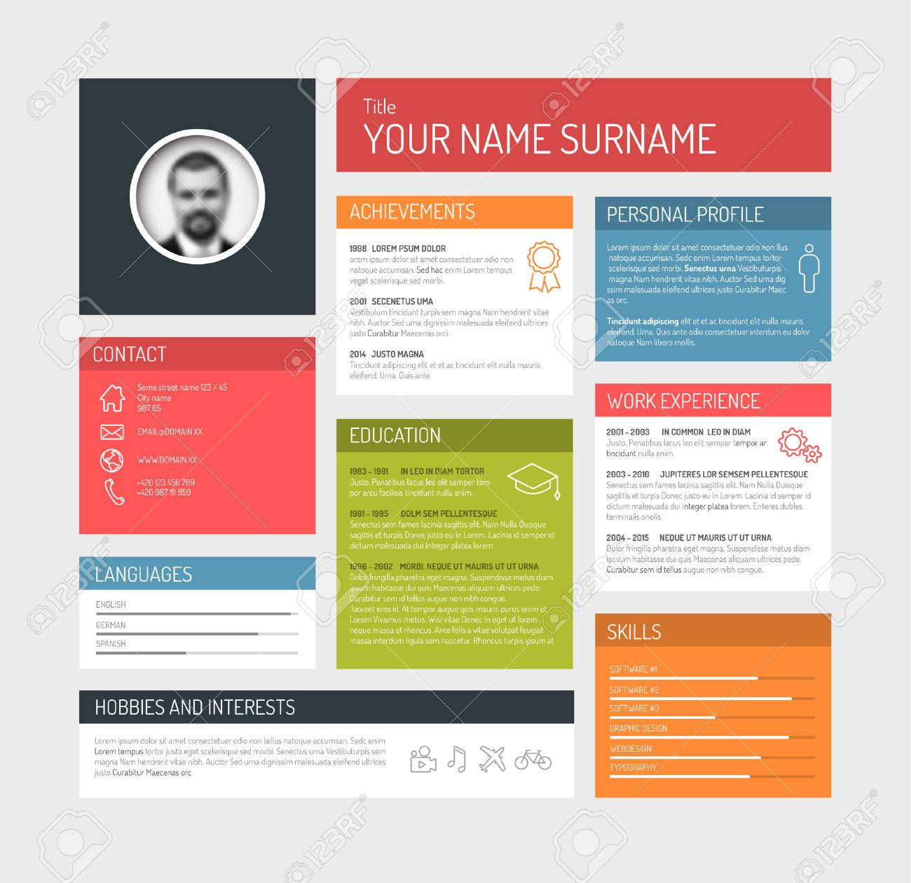 resume template website resume template website - Website Resume Templates
