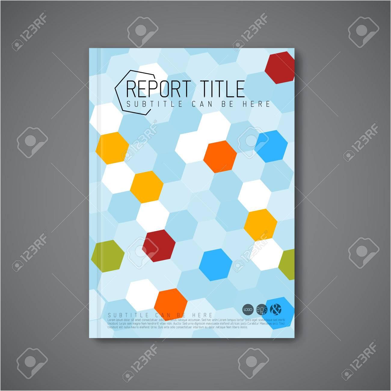 Libro / Folleto Plantilla Moderna Abstracta Del Vector Folleto De ...