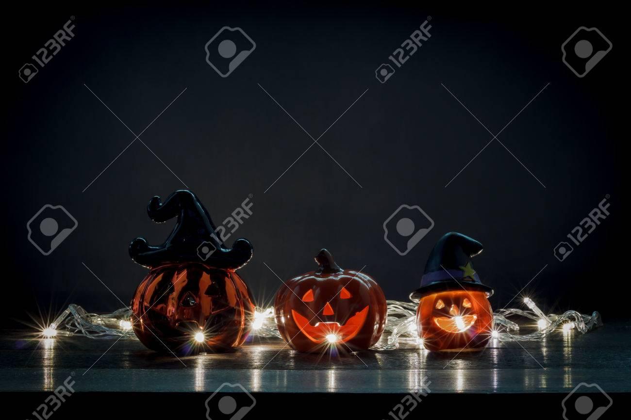 Decorazioni felice di halloween concetti di festival mix varietà