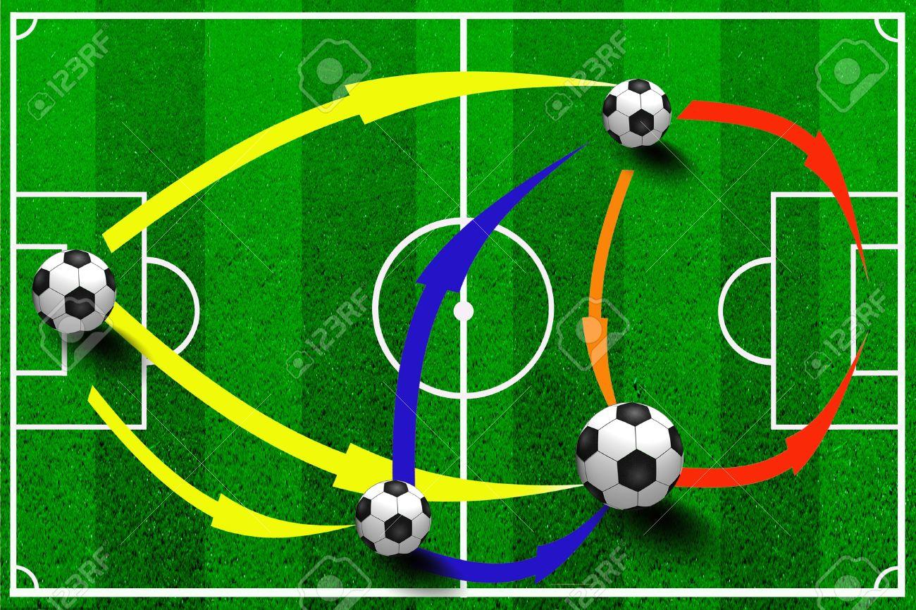 Самая популярная футбольная схема
