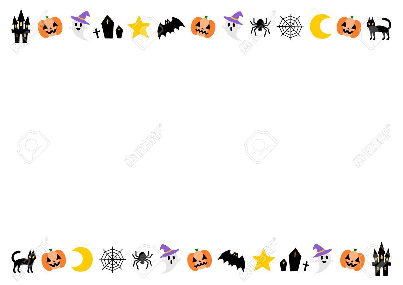 Frame of the Happy Halloween - 61581467