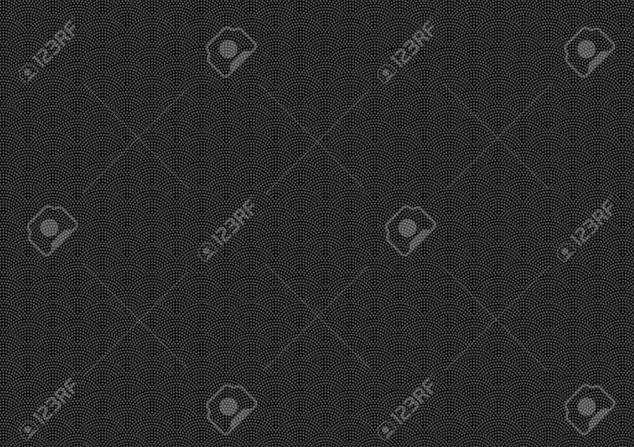 Samekomon Traditional pattern of Japan (Black background) - 64124108