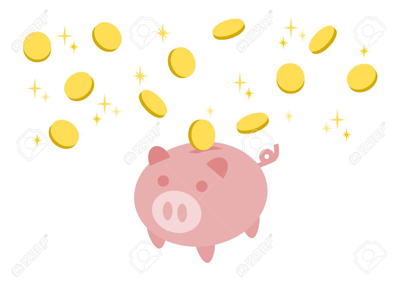 「貯金箱 イラスト」の画像検索結果