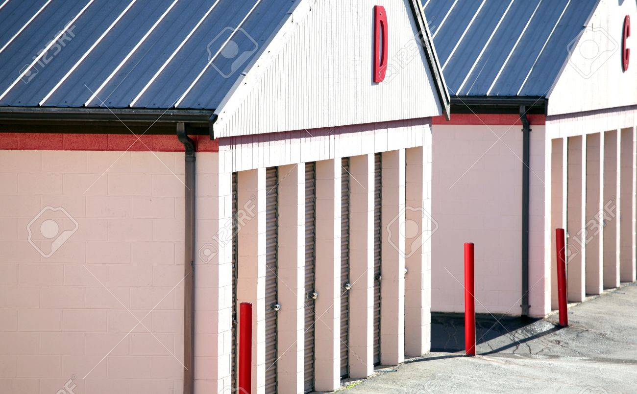 Public storage units for rent to the consumer. Stock Photo - 9200862