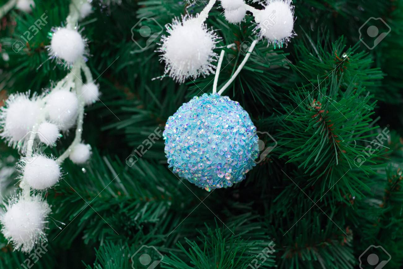 Christmas And New Year Seasonal Decoration Green Tree Branches Stock Photo Picture And Royalty Free Image Image 67034692