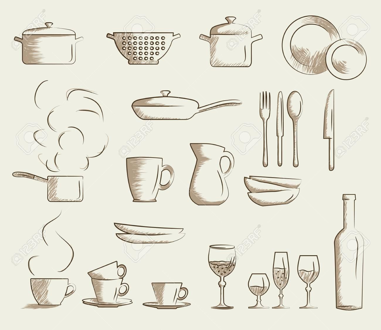 Ungewöhnlich Küchenutensilien Liste Zeitgenössisch - Ideen Für Die ...