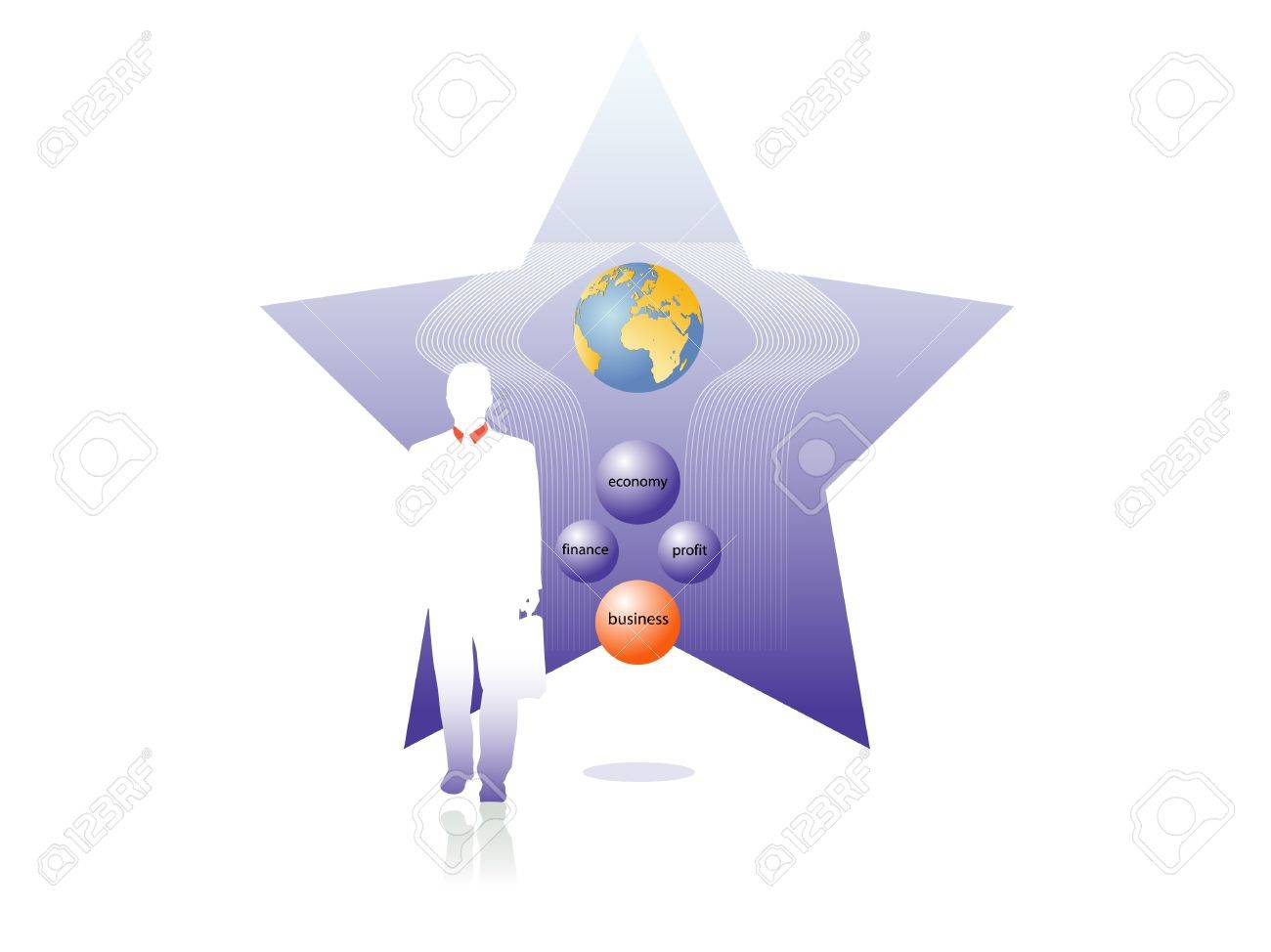 business star Stock Vector - 15701676
