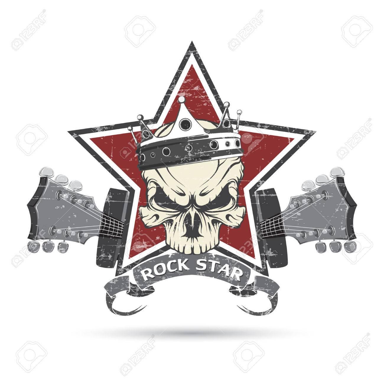 The vector image rock n roll symbol royalty free cliparts vectors the vector image rock n roll symbol stock vector 37494598 buycottarizona