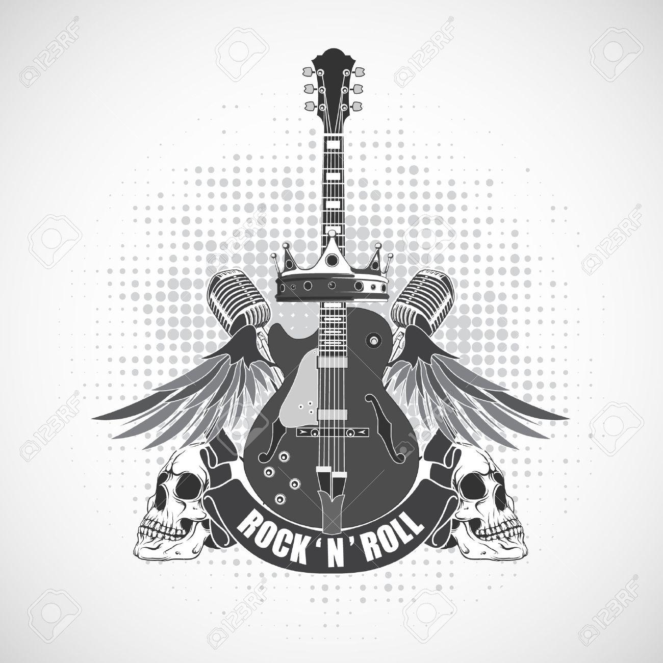 The vector image rock n roll symbol royalty free cliparts vectors the vector image rock n roll symbol stock vector 37494601 buycottarizona
