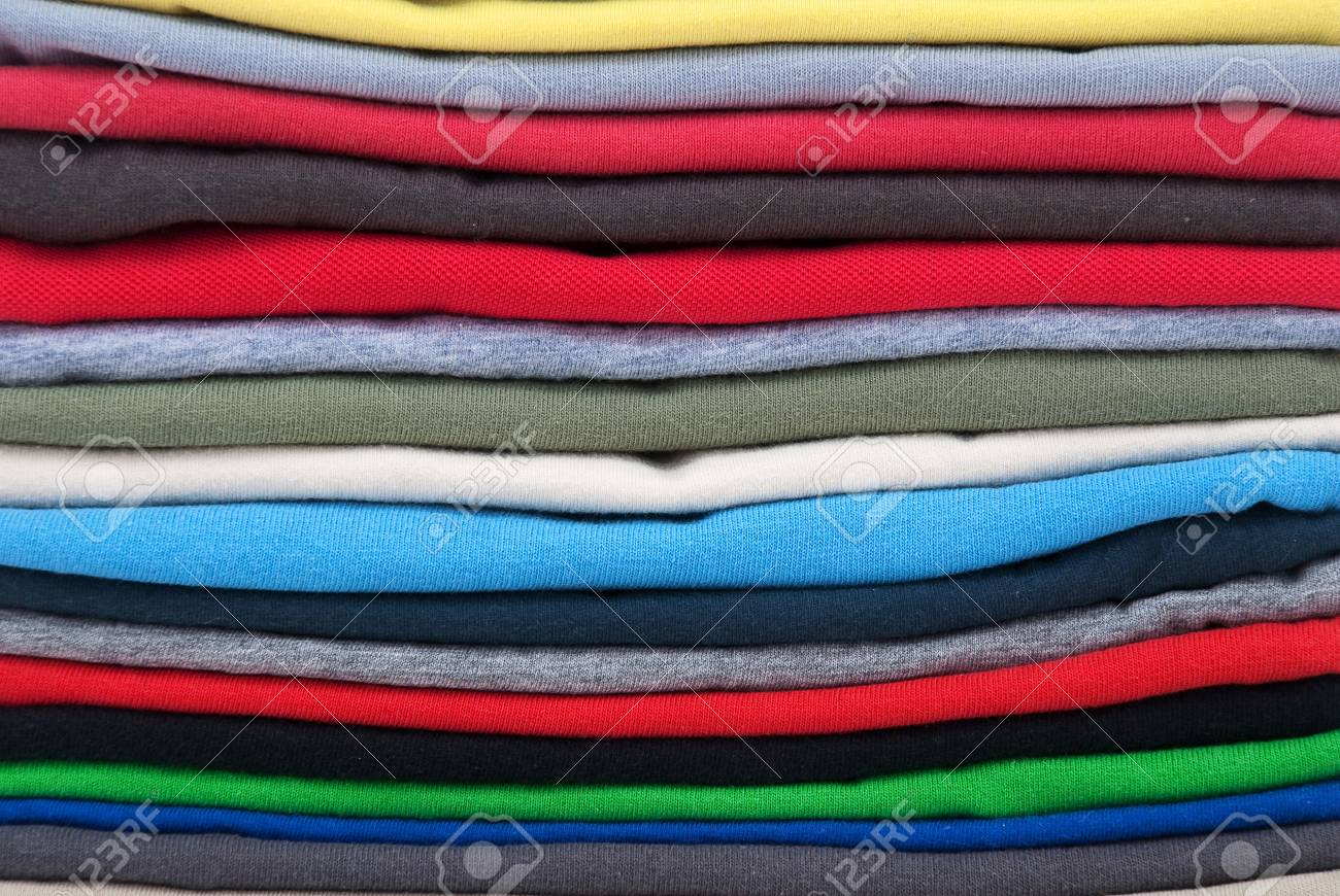 shirts adds to the pile Stock Photo - 10398781