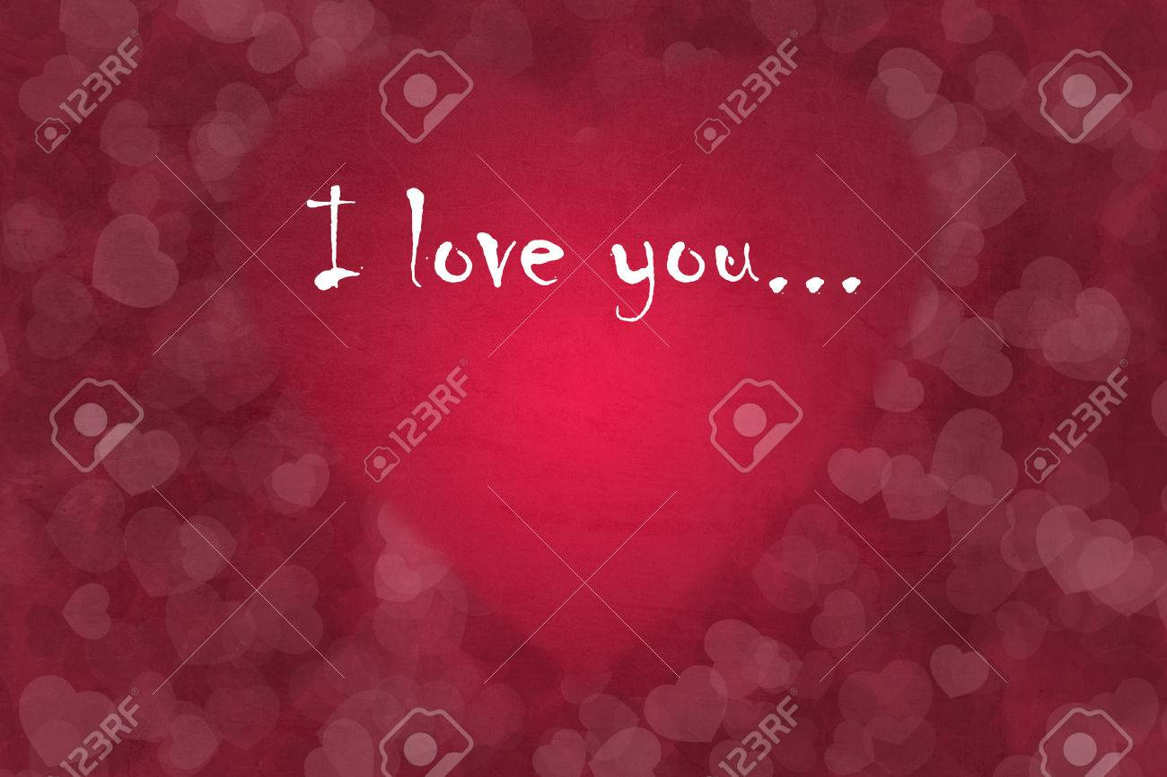 Nice romantic for St. Valentine's Day with heart texture Stock Photo - 25828851