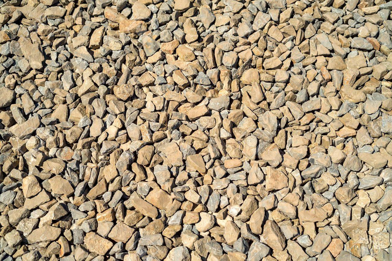 Crushed Limestone Aggregate Stock Photo, Picture And Royalty Free ...