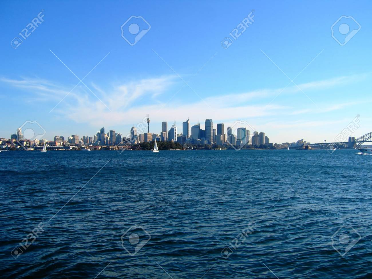 Sydney City From Water View - 4650845
