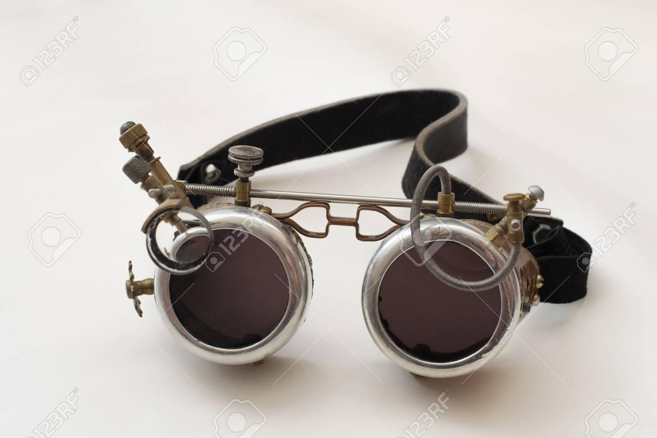 c11d14d9f30 Metal Steampunk Glasses