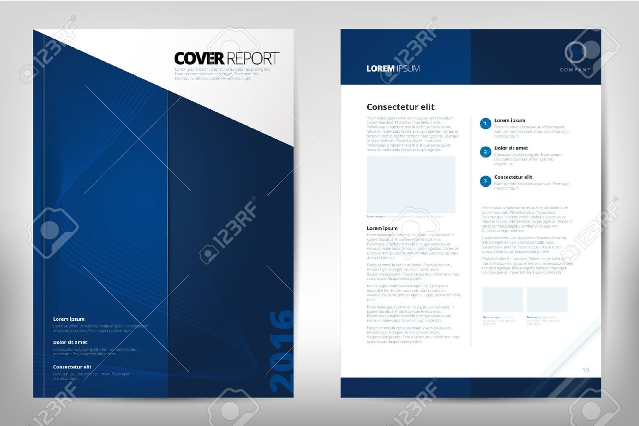 Modern Cover Annual Report Brochure - Business Brochure - Catalog ...
