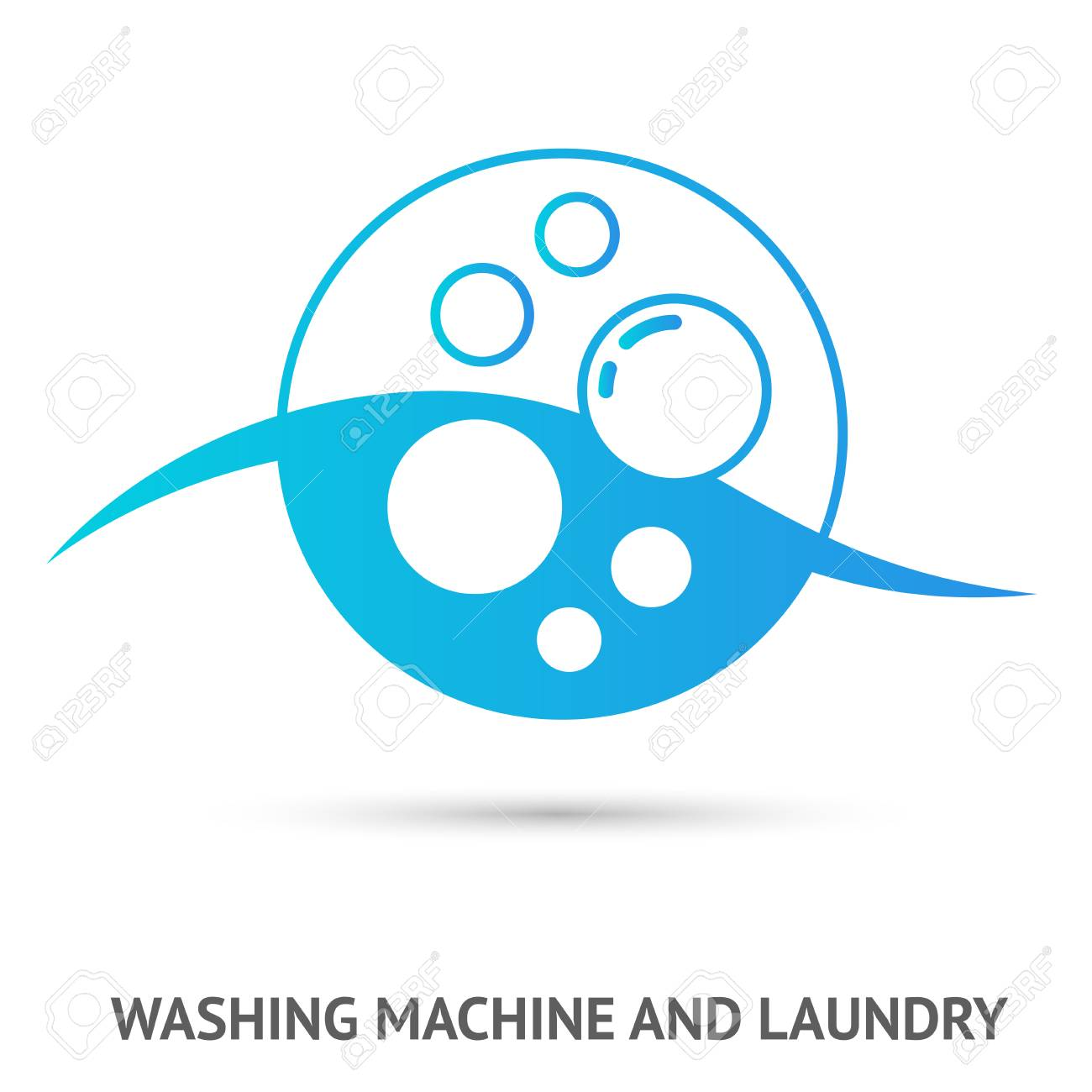 washing machine and laundry logo vector illustration royalty free cliparts vectors and stock illustration image 94065423 washing machine and laundry logo vector illustration