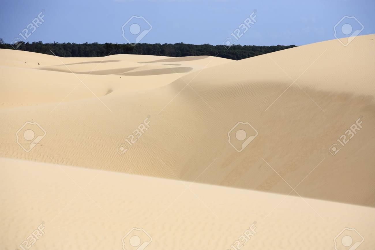 desert sand dunes of the Lencois Maranheses National Park - 121743884