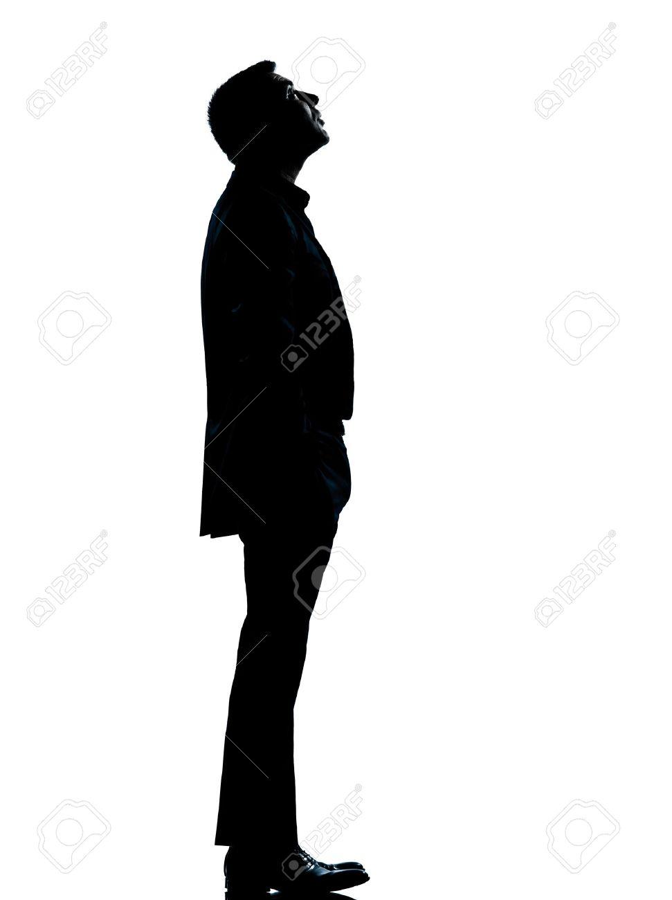 Human standing vector