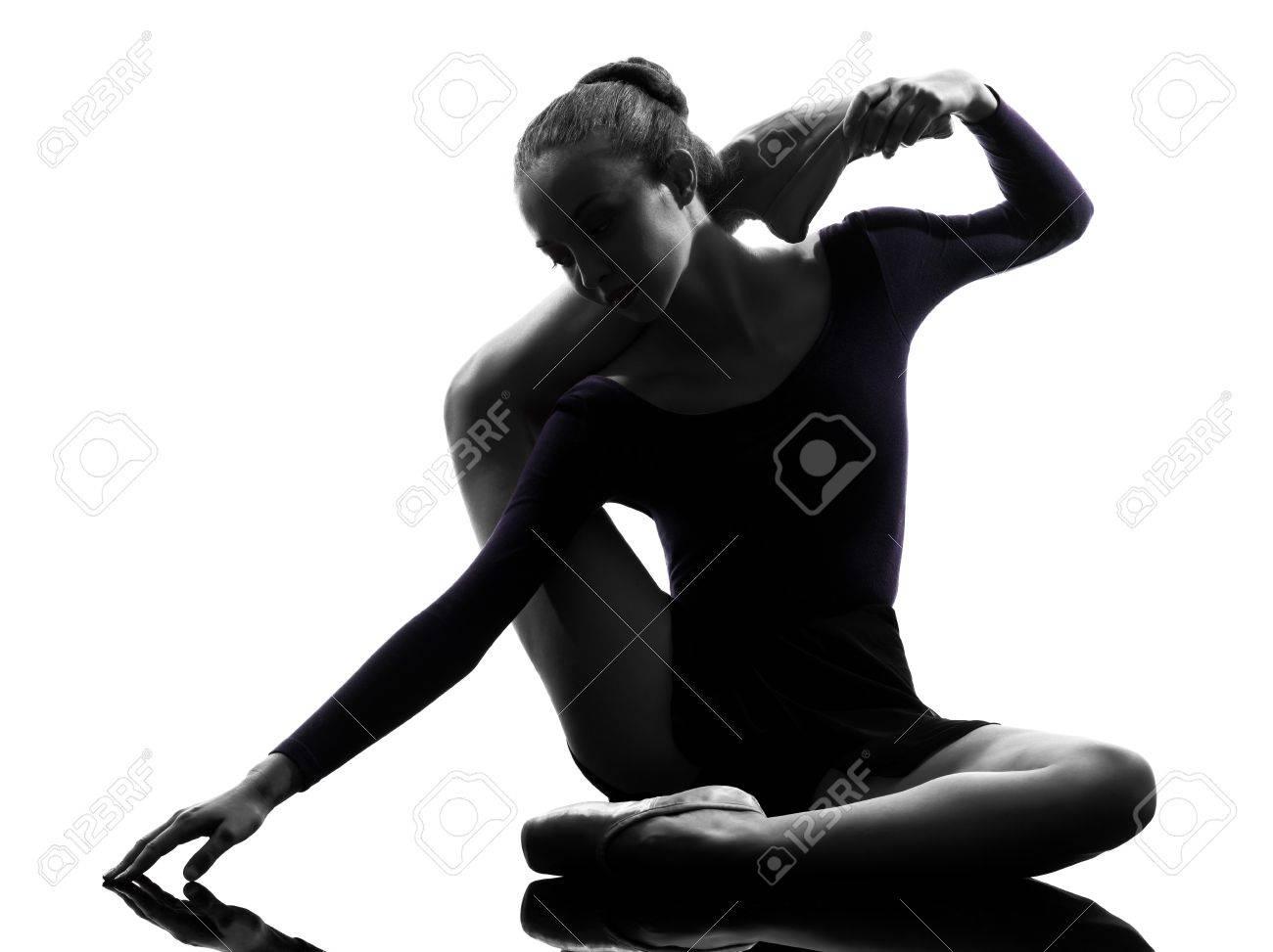 Разминка голой балерины 9 фотография