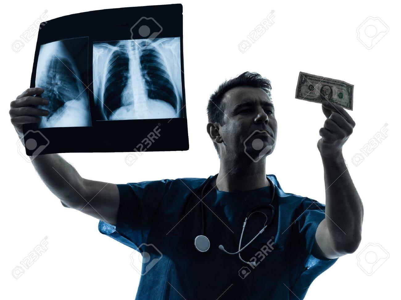 man doctor surgeon medical Surgeon Silhouette