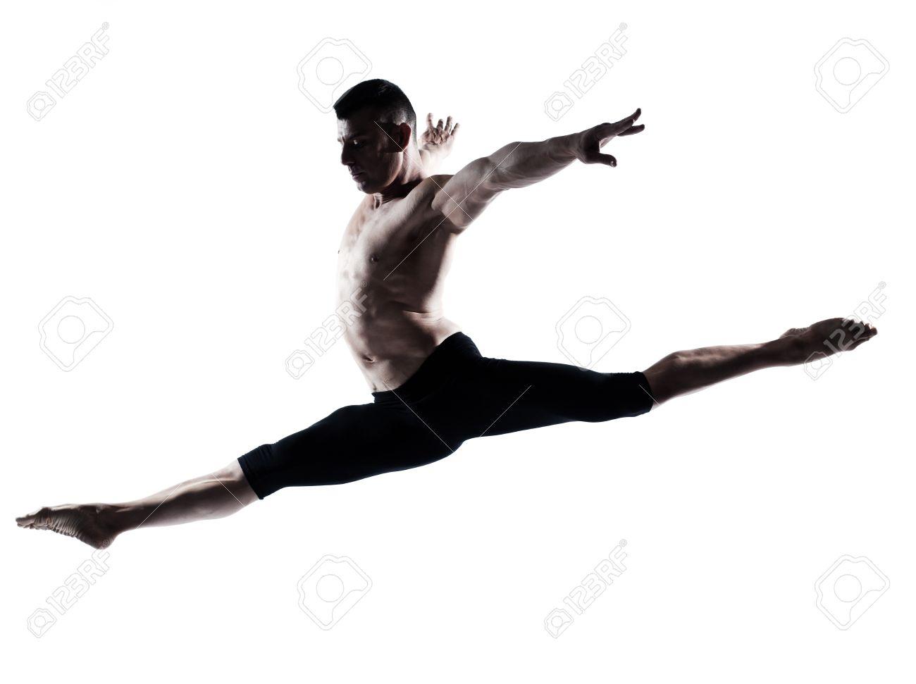 Souvent Un Danseur De Ballet Moderne, Danse Caucasien De Gymnastique  ZG43