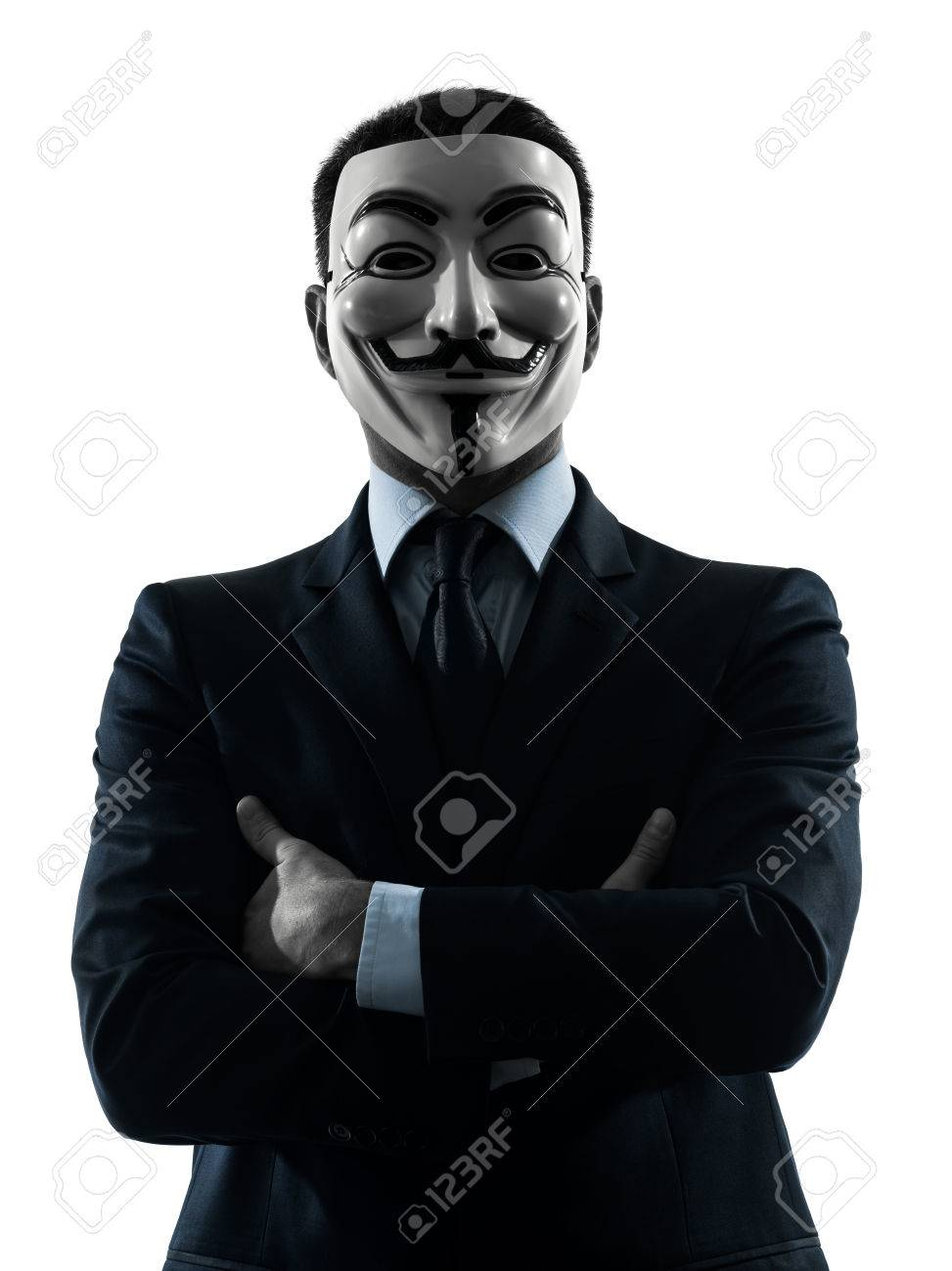 Vestido Y 30 Anonymous Hombre Enmascarado Del Miembro El OctubreUn París Clandestino ParísFrancia Grupo En 2012 Octubre De Como l1T3cFKJ