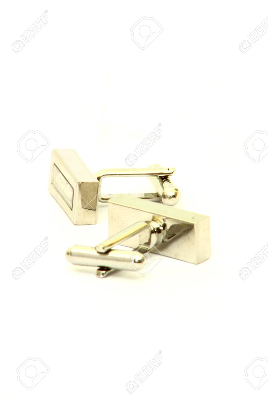 cufflinks with crystals Stock Photo - 7644277