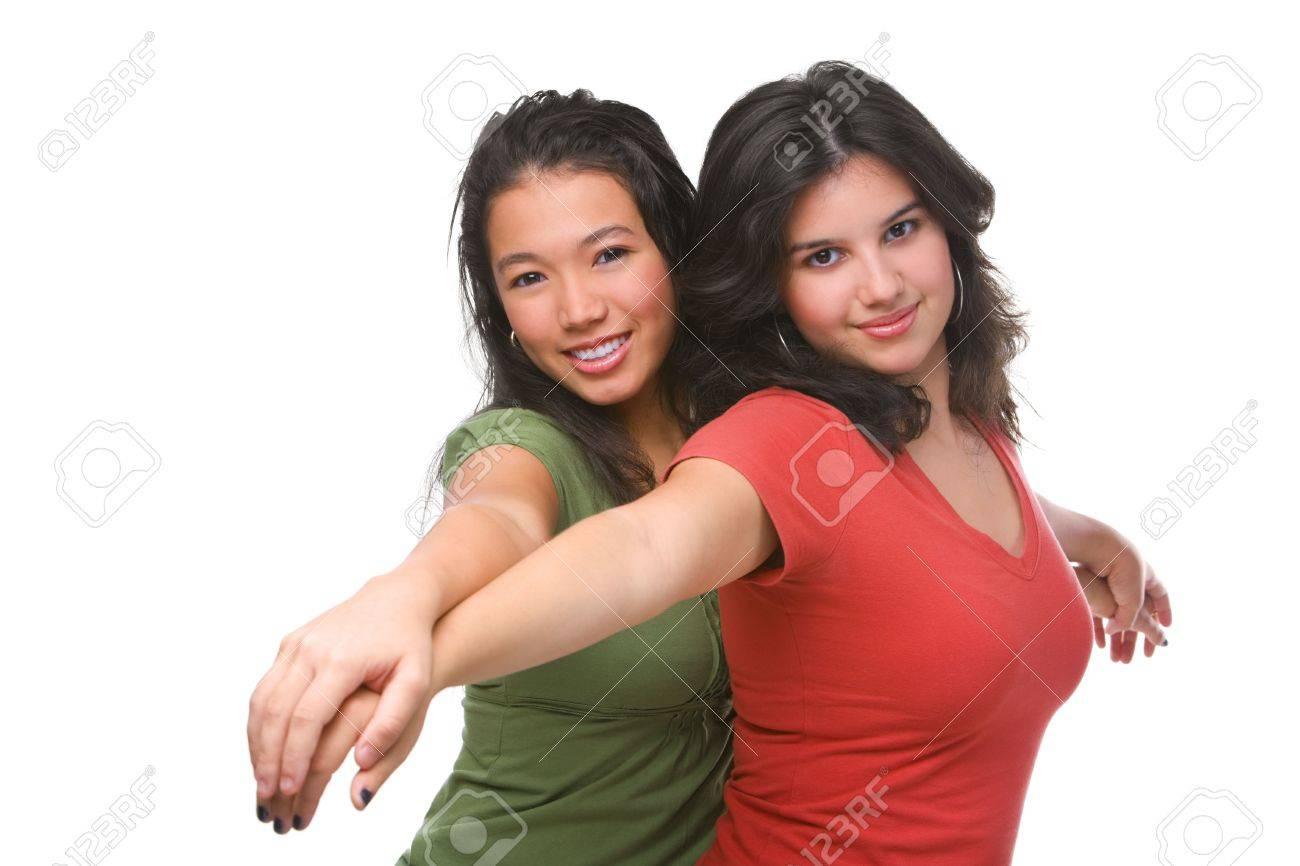 Due adolescenti hanno sesso
