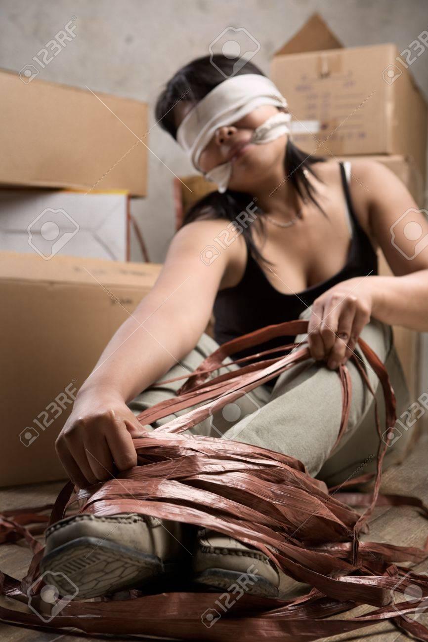 Связанные люди веревкой 10 фотография