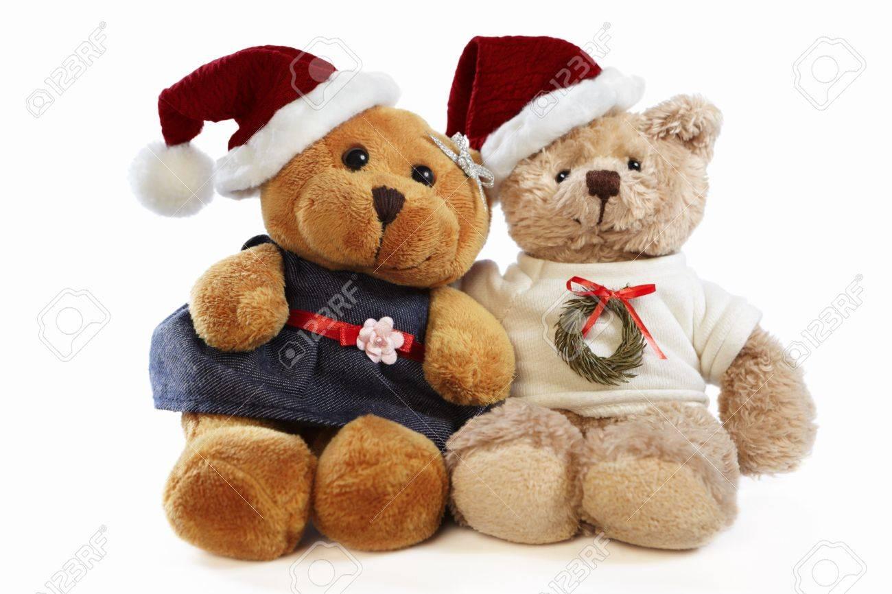 Christmas Bear.Christmas Teddy Bear Dolls