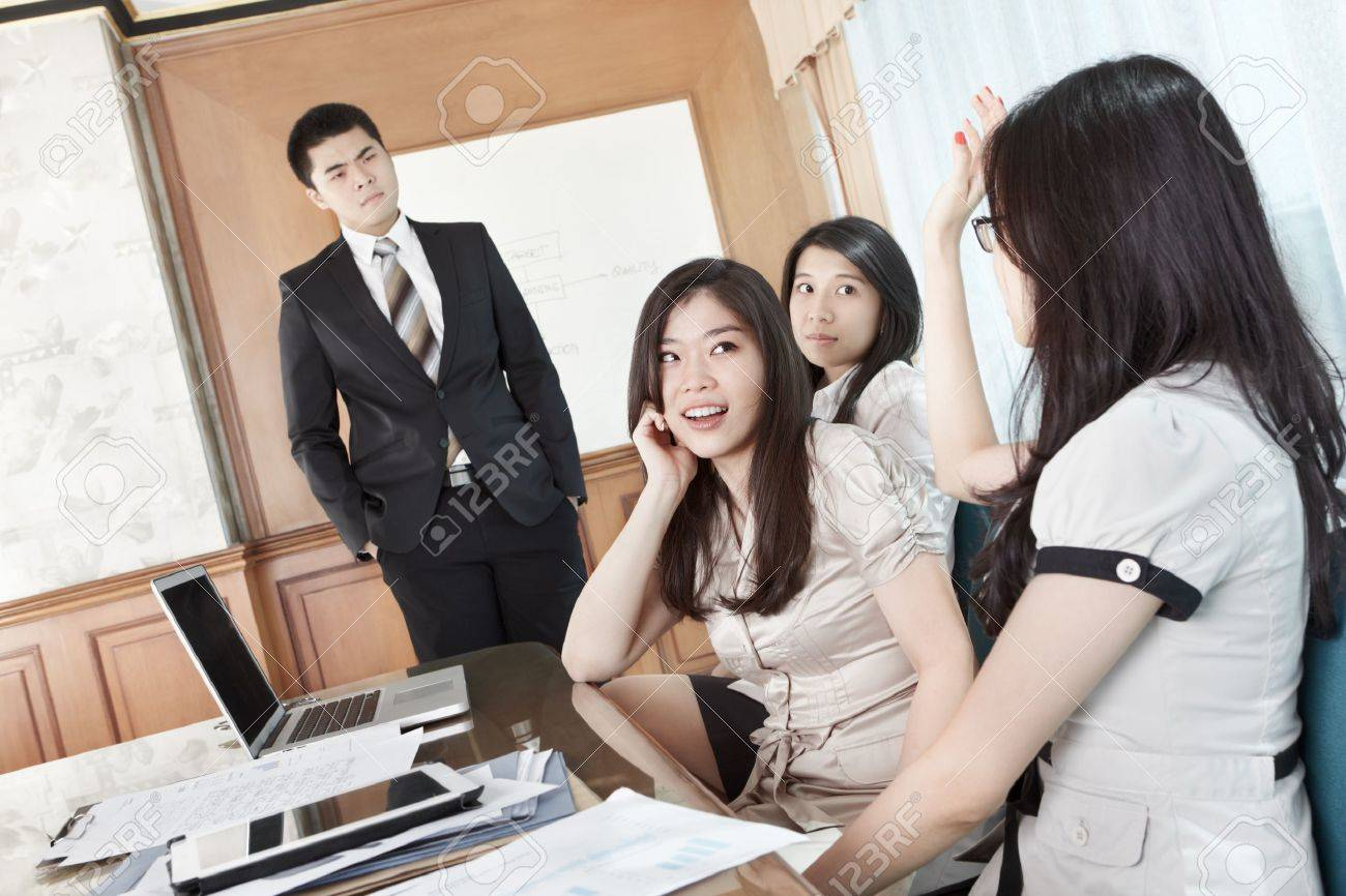 Businesswoman Raise Hand To Ask The Manager In A Briefing Stock Photo  12751331 Businesswoman Raise Hand How To Fix A Graduation