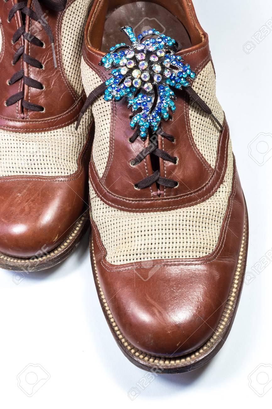 Diamantes Cuero Zapatos De Con Broche Los Hombres Vintage Sw0Pxa
