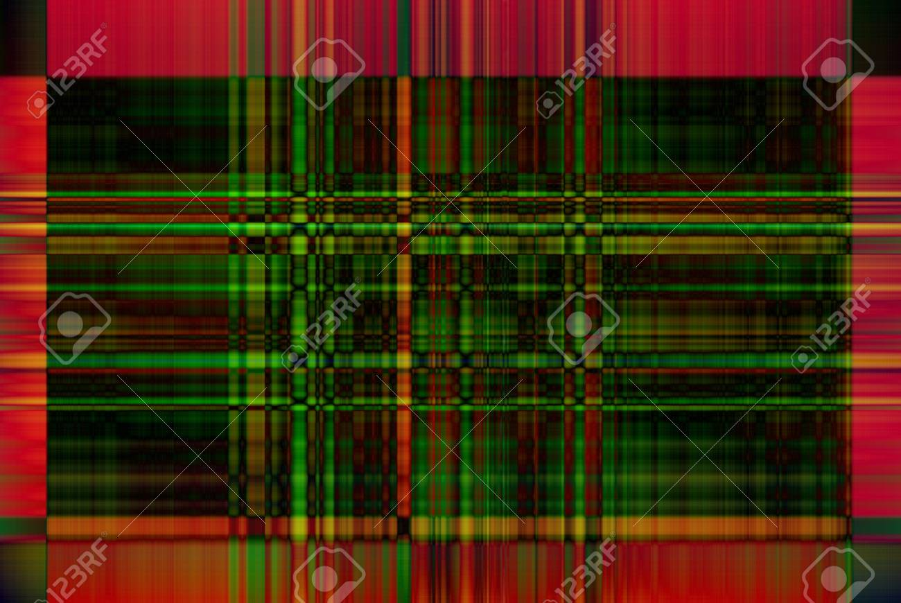 Background in green and red cell Stock Photo - 16519033