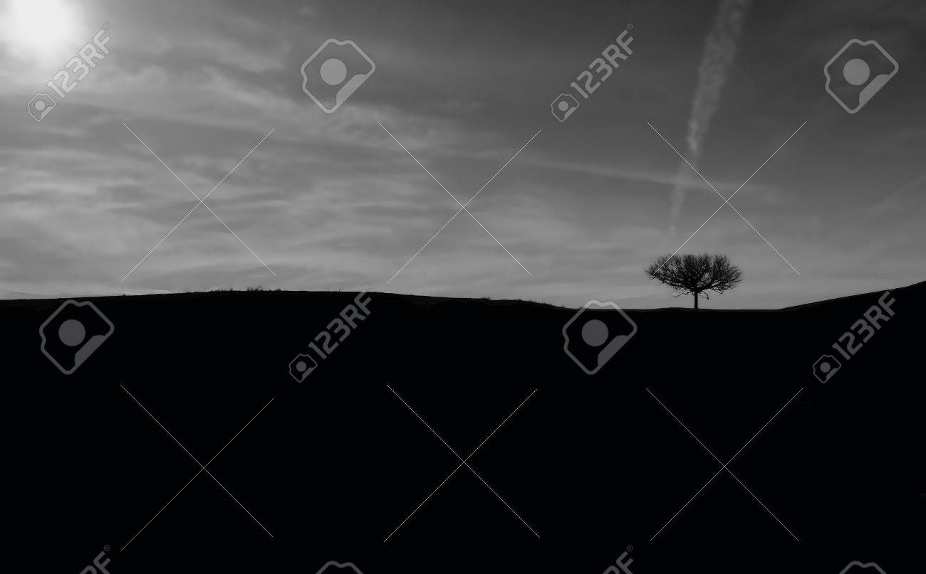 An horizon photo token in spanish country called guadalajara stock photo 8892075