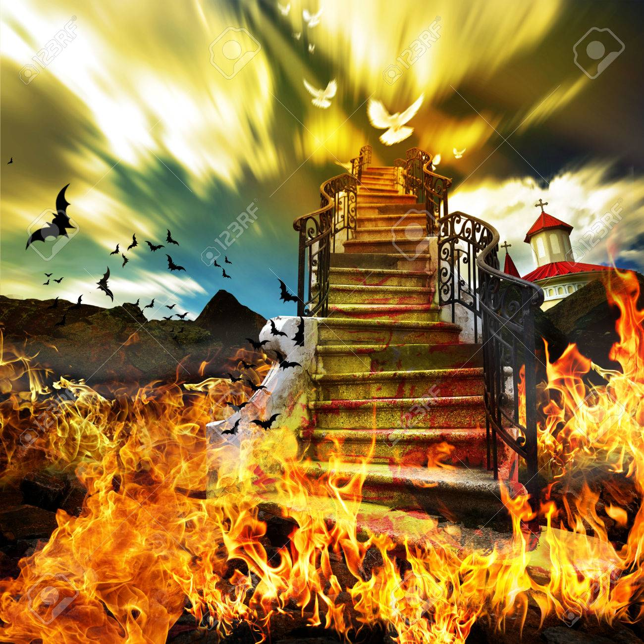 Stairway from Hell to Heaven - 54040240