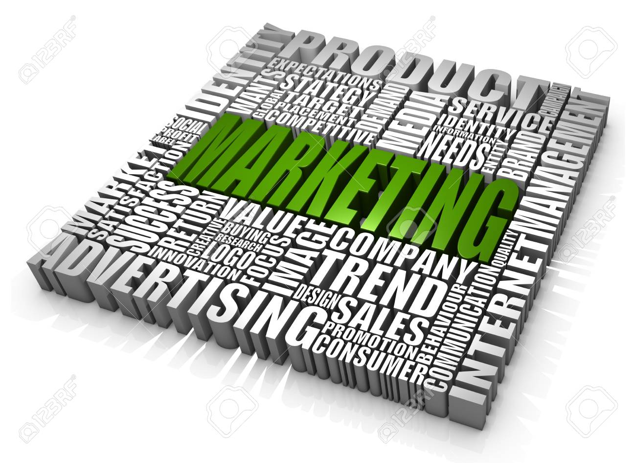 Group of Marketing related words. Part of a series of business concepts. Stock Photo - 7156959
