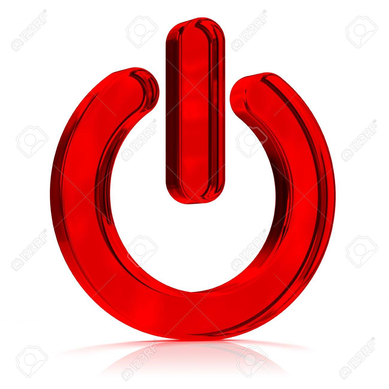 Red glass power off symbol computer icon part of a series stock red glass power off symbol computer icon part of a series stock photo biocorpaavc Choice Image