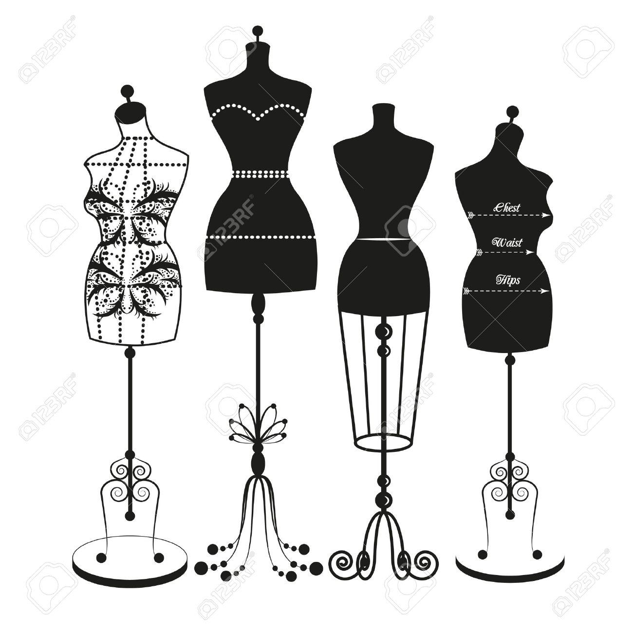 Dressmakers Dummy Vector
