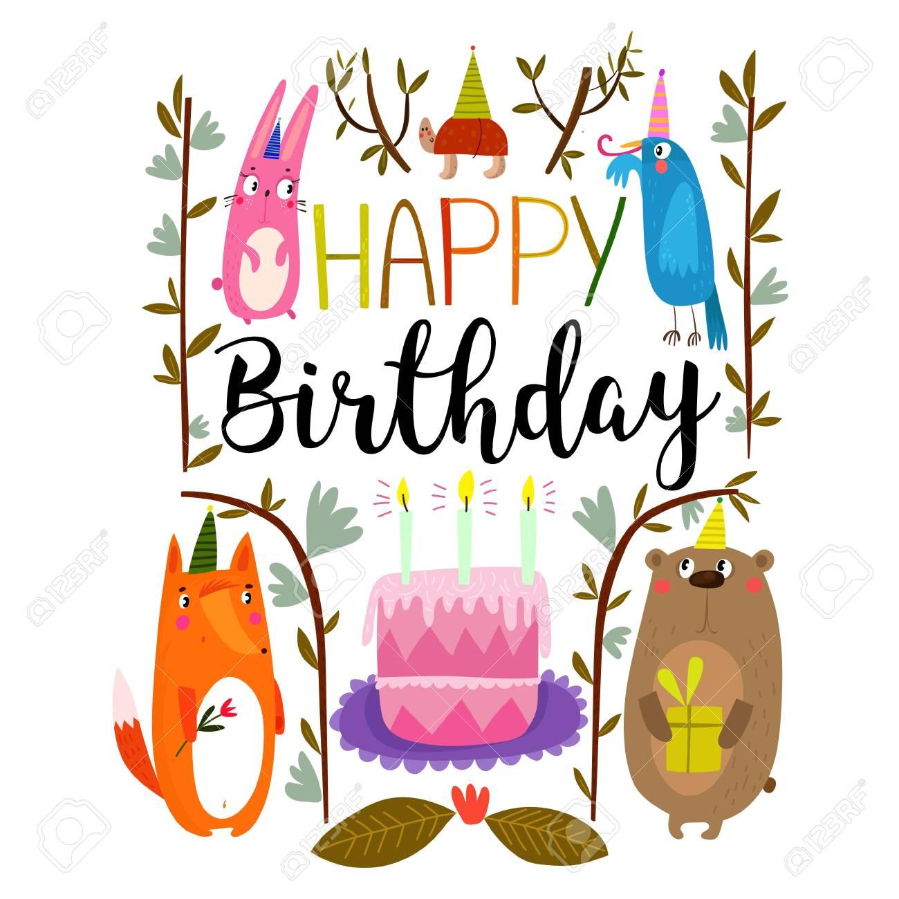 Fantastisch Alles Gute Zum Geburtstag Farbfolien Bilder ...