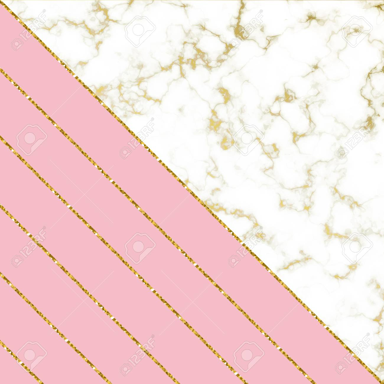 Modern Background With White Marble Texture And Pink And Gold Royalty Free Cliparts Vectors And Stock Illustration Image 93657849