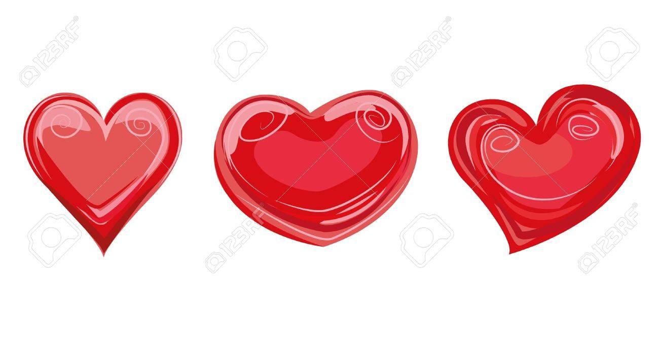hearts Stock Vector - 19828807