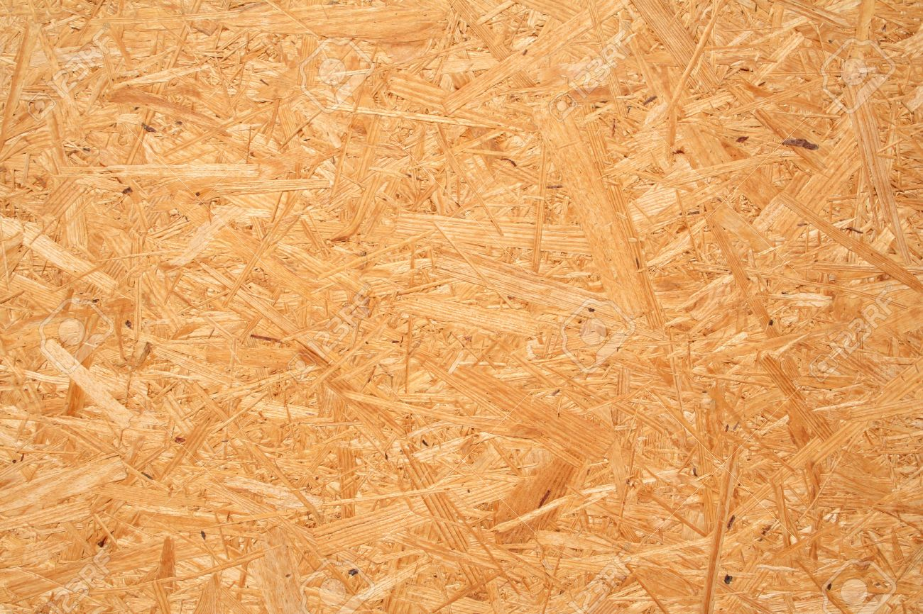 yellow wood chipboard can use as background stock photo picture and